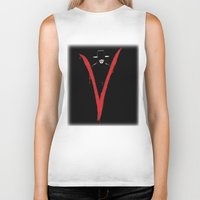 V for Vendetta (e6) Biker Tank