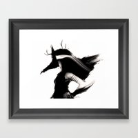 Zooey 2.0 Framed Art Print
