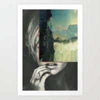 sci-fi nature Art Print