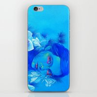 All Is Full of Love (Luna Moths) iPhone & iPod Skin