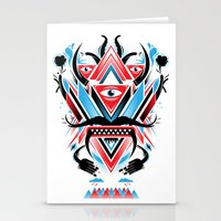 An Ancient Deity  Stationery Cards