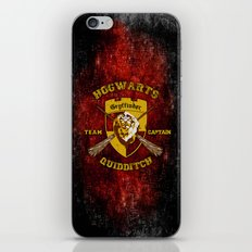 Gryffindor lion quidditch team captain iPhone 4 4s 5 5c, ipod, ipad, pillow case, tshirt and mugs iPhone & iPod Skin