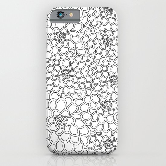 """White flowered trees"" iPhone & iPod Case"