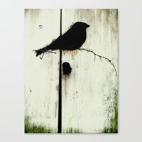 Early Bird - JUSTART © Canvas Print