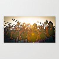 Auburn Flare Canvas Print
