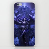 Black Angel iPhone & iPod Skin