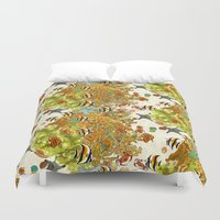 The Great Barrier Reef Duvet Cover