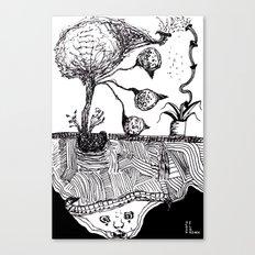 Bird Tree Canvas Print