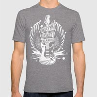 Electric Fuzz Jamboree Mens Fitted Tee Tri-Grey SMALL