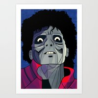 Thriller Night Art Print