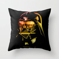 STAR WARS Darth Vader on black Throw Pillow