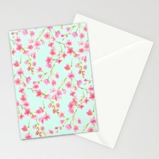 Cherry Blossom Pink Mint (for Mackenzie) Stationery Cards