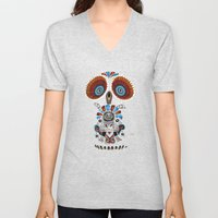 Mexican Owl Unisex V-Neck