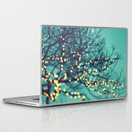 Laptop & iPad Skin featuring Twinkle Lights by Sylvia Cook Photogra…
