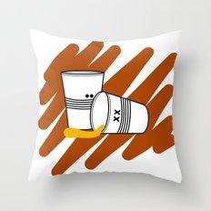 Another night Throw Pillow