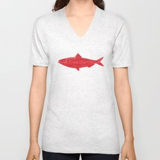 Swedish Fish Unisex V-Neck