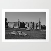 Bolton Abbey #5 Art Print