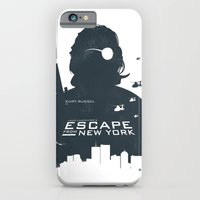 iPhone & iPod Case featuring John Carpenter's Escape From New York by Alain Bossuyt