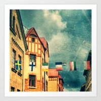 COLORI Art Print
