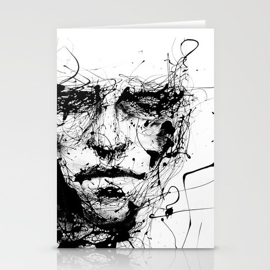 lines hold the memories Stationery Card
