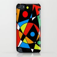 Abstract #120 iPod touch Slim Case