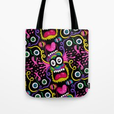 There's Something On Your Face Tote Bag