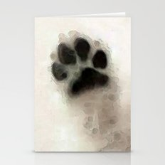 I Paw You - Dog Art By Sharon Cummings Stationery Cards