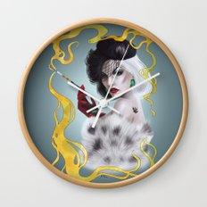 Cruella de Vil Wall Clock