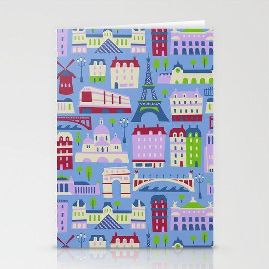 J'adore Paris Stationery Card