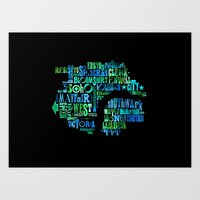 Alphabet Cities 001 - Lo… Art Print