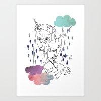 We Are All Unicorns Art Print
