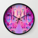 Taj Digi Collage Wall Clock