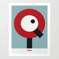 I.Q. Art Print