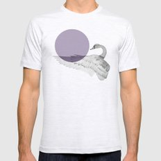 swan Mens Fitted Tee Ash Grey SMALL