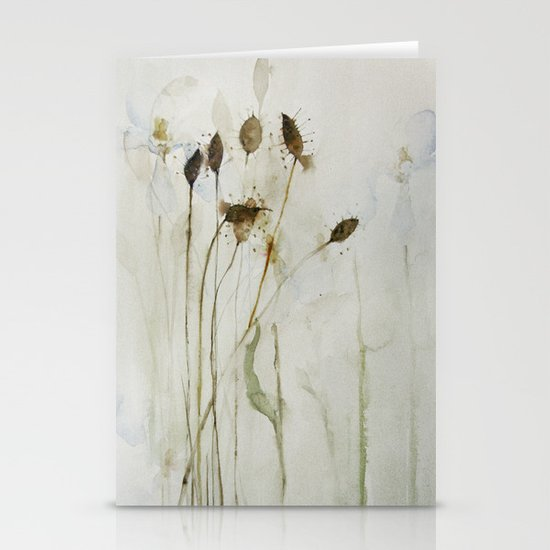 beautiful weeds Stationery Card