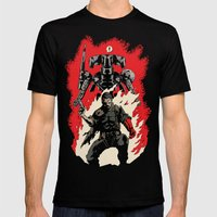 Hellboss Mens Fitted Tee Black SMALL