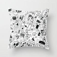 Hogwarts, Hogwarts, Hogg… Throw Pillow