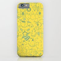 iPhone & iPod Case featuring Super Mega Turbo Doodle Power by Lowercase Industry