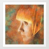 Citric Burn Art Print