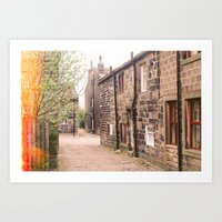 Home Is Where Your Heart… Art Print