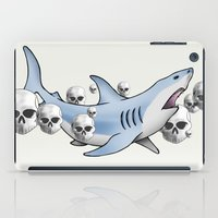 Shark & Skulls iPad Case