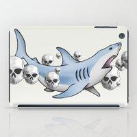 Shark & Skulls iPad Case