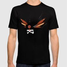 Dreamcatcher Black Mens Fitted Tee SMALL