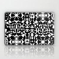 Black And White Square 2 Laptop & iPad Skin