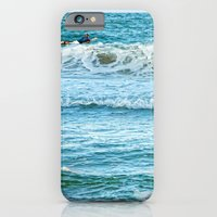 Enjoying the surf in summer iPhone 6 Slim Case