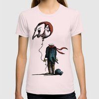 And His Head Swelled with Pride... Womens Fitted Tee Light Pink SMALL