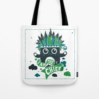 I Am The Chief! Tote Bag