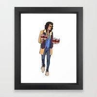 Coffee Haz Framed Art Print