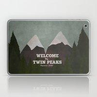 Welcome To Twin Peaks Laptop & iPad Skin