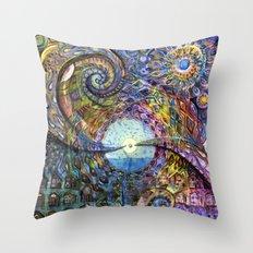Water Consciousness Throw Pillow